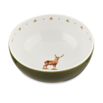 Spode® Glen Lodge Stag 9-5-Inch Deep Bowl