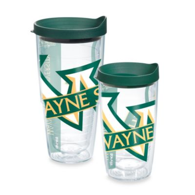 Tervis® Wayne State University Wrap Tumblers with Green Lid