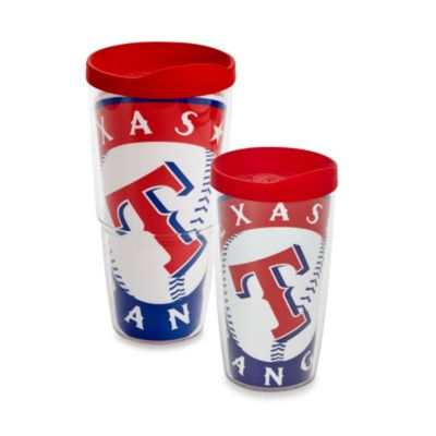Tervis® Texas Rangers Wrap Tumbler with Red Lid