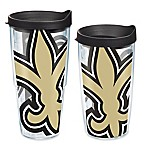 Tervis® New Orleans Saints Wrap Tumblers with Black Lid