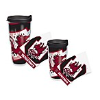 Tervis® South Carolina Gamecocks Wrap Tumblers with Black Lid