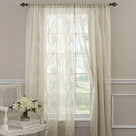 Laura Ashley® Frosting Window Curtain Panels