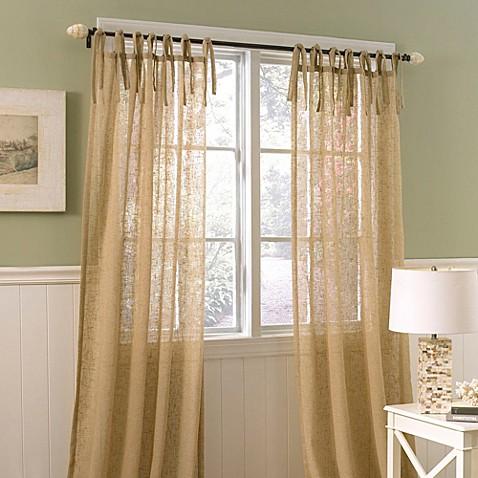 Laura Ashley Danbury 42 Inch X 84 Inch Decorative Window Curtain Panel