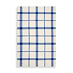 Arlington Plaid Rug in White/Blue