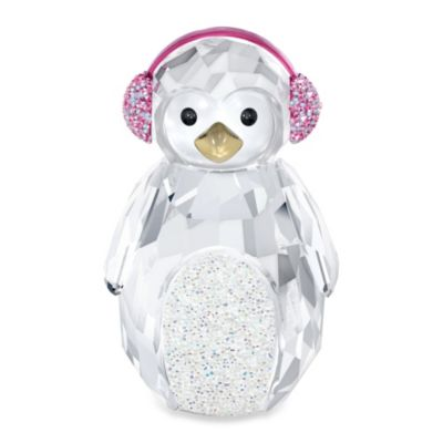 Rocking Penguin in Swarovski® Crystal