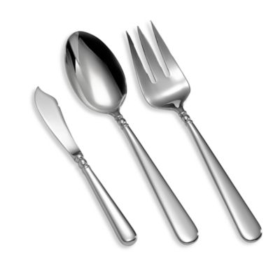 Lenox® Pearl Platinum™ 3-Piece Serving Set