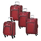 Ricardo Beverly Hills Montecito Micro-Light Luggage Collection in Red