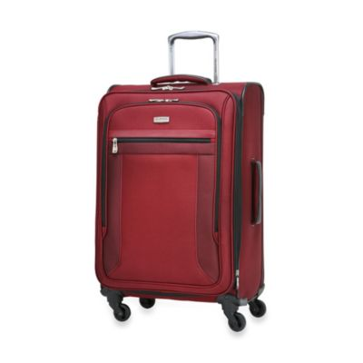 Ricardo Beverly Hills Montecito Micro-Light 24-Inch 4-Wheel Expandable Spinner Upright in Red