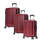 Ricardo Beverly Hills Sunset Boulevard Luggage Collection in Red