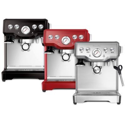 Cranberry Red Espresso Machines