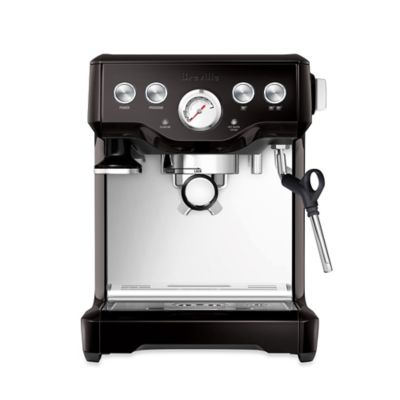 Breville® Infuser™ BES840BSXL Espresso Machine in Black Sesame