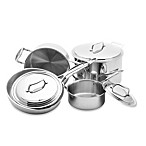USA Pan 5-Ply Stainless Steel 8-Piece Cookware Set and Open Stock