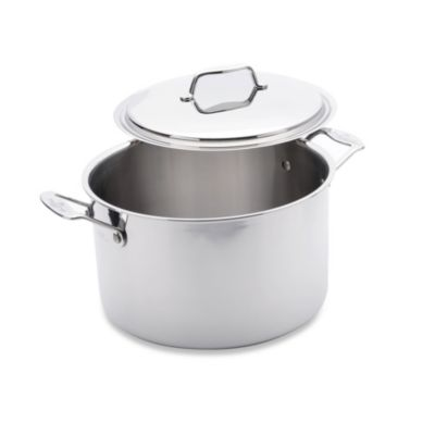 USA Pan 5-Ply Stainless Steel 8-Quart Covered Stockpot