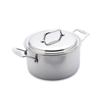 USA Pan 5-Ply Stainless Steel 3-Quart Covered Stockpot
