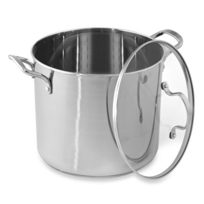 Denmark® Stainless Steel 20-Quart Covered Stockpot