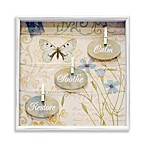 Calm, Soothe, Restore Shadowbox Wall Art