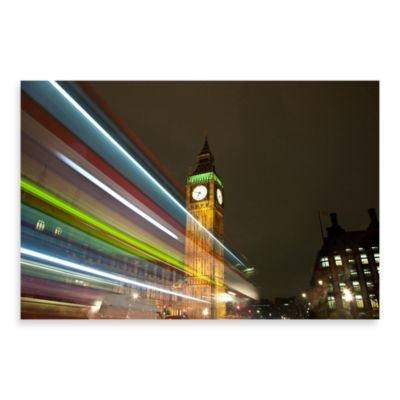 "PrintCopia Collection Henry Donald ""Big Ben Clocktower"" Canvas Print"