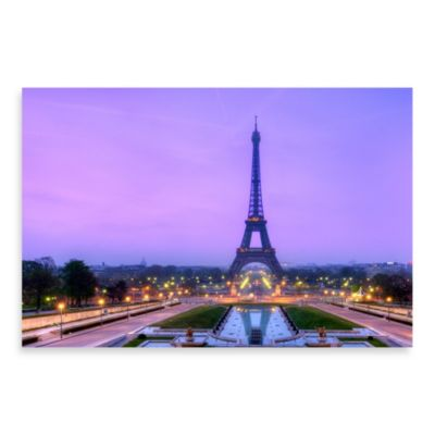 "PrintCopia Collection Richard Susanto ""Paris at Sunrise"" 24-Inch x 36-Inch Canvas Photo Print"