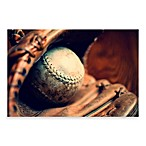 "PrintCopia Collection Alison Samborn ""Vintage Baseball and Glove"