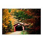 PrintCopia Collection Vermont Covered Bridge in Autumn