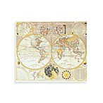 "PrintCopia Collection ""Double Hemisphere World Map"
