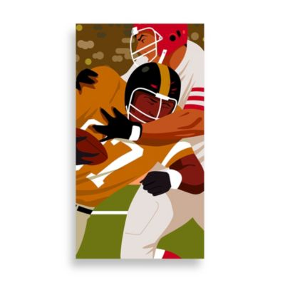 PrintCopia Collection Football Tackle Canvas Wall Art