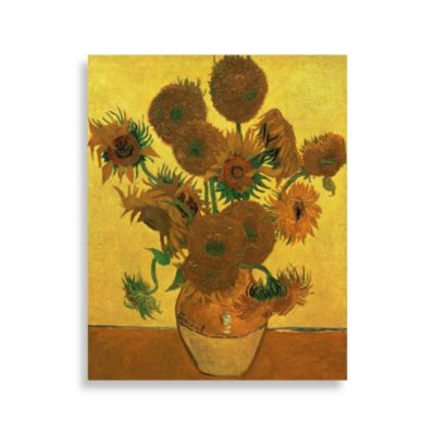 "PrintCopia Collection Van Gogh, ""Sunflowers, 1888"" 30-Inch x 24-Inch Canvas Print"