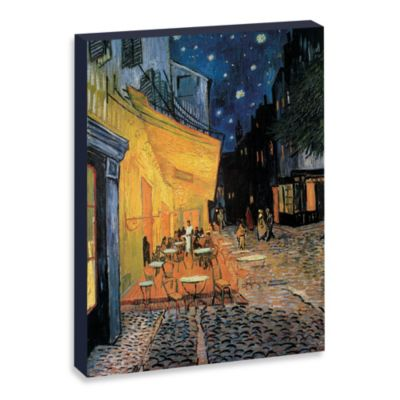 "Van Gogh ""Café Terrace at Night"" Gallery Wrap Canvas Print"