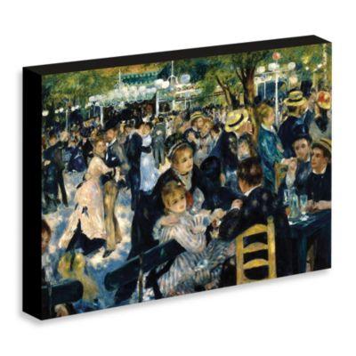 """Renoir """"Bal du moulin de la Galette"""" Gallery Wrap Canvas Print"""