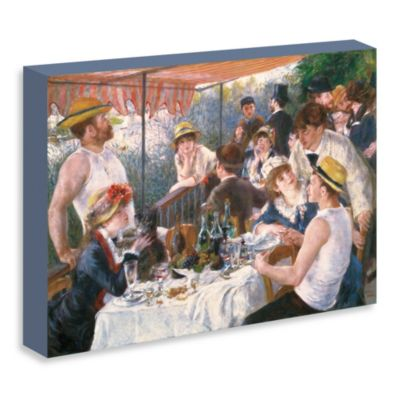 "Renoir ""Luncheon of the Boating Party"" Gallery Wrap Canvas Print"