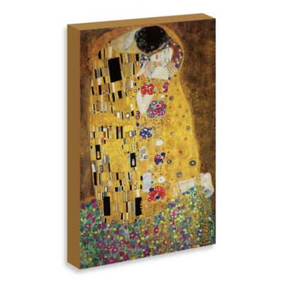 "Klimt ""The Kiss"" Gallery Wrap Canvas Print"