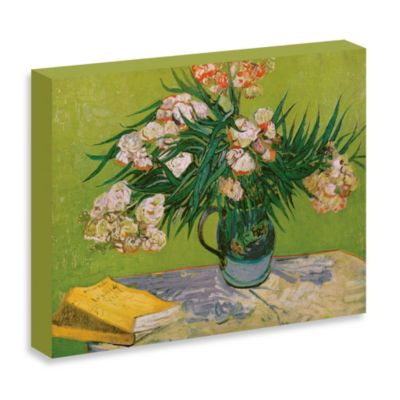 "Van Gogh ""Still Life with Oleander"" Gallery Wrap Canvas Print"
