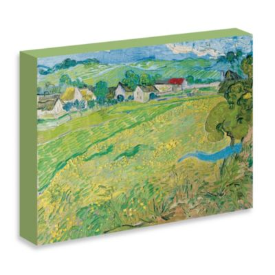 "Van Gogh ""Les Vessenots in Auver, 1890"" Gallery Wrap Canvas Print"