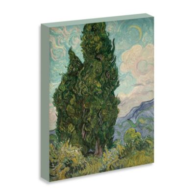 "Van Gogh ""Cypresses, 1889"" Gallery Wrap Canvas Print"