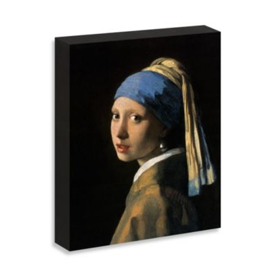 """Vermeer """"Girl with a Pearl Earring"""" Gallery Wrap Canvas Print"""