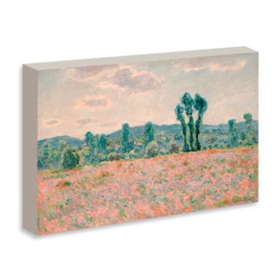 "Monet ""Poppy Field"" Gallery Wrap Canvas Print"