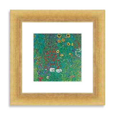 "Klimt ""Farm Garden"" Wall Art"
