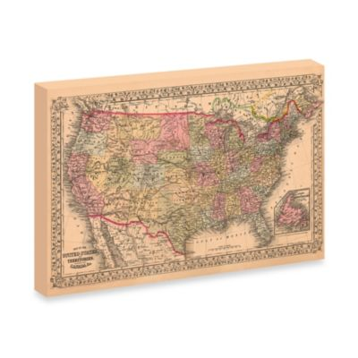Rambles Through Our Country Canvas Wall Art