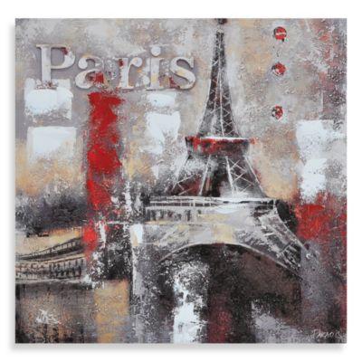 "Ren-Wil ""Memories of Paris"" Canvas Print"