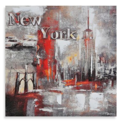 "Ren-Wil ""Memories of New York"" Canvas Print"
