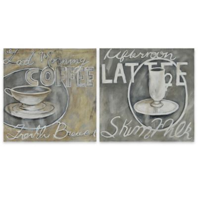Ren-Wil Paris Cafe Canvas Prints (Set of 2)