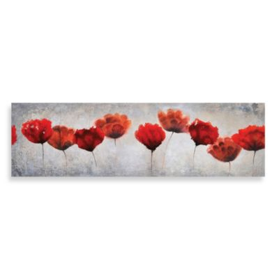 Ren-Wil Red Blossoms Canvas Print