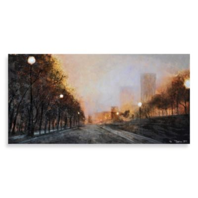 """Misty Streets"" Wall Art"