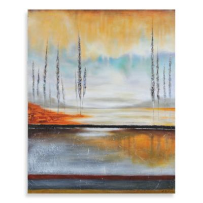 "Ren-Wil ""Earth in Fall"" Canvas Art"