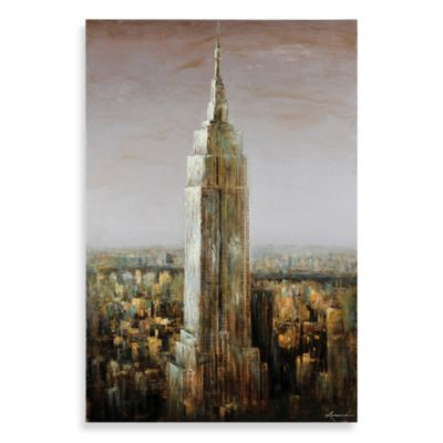 Ren-Wil Empire State Canvas Print