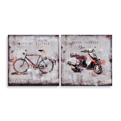 Ren-Will Vintage Transportation Canvas Wall Art