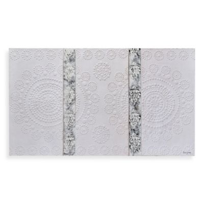 Ren-Wil Delicate Lace Canvas Wall Art