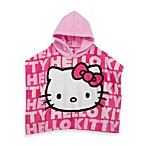 Hello Kitty Size 2T-4T Hooded Poncho