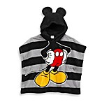 Mickey Mouse Size 2T-4T Hooded Poncho