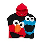 Elmo Size 2T-4T Hooded Poncho